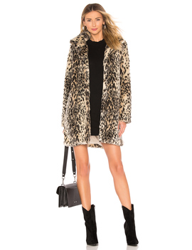 Adamia Faux Fur Coat by Cupcakes And Cashmere