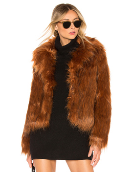 Penny Lane Faux Fur Jacket by Bb Dakota