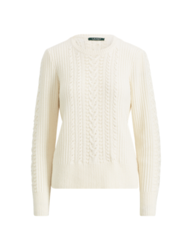 Beaded Cable Sweater by Ralph Lauren
