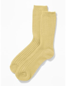 Soft Brushed Rib Knit Socks For Women by Old Navy