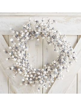 "21"" Icy Berry Wreath by Pier1 Imports"