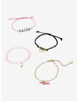 Mean Girls Fetch Bracelet Set by Hot Topic