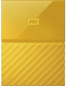 My Passport 1 Tb External Usb 3.0 Portable Hard Drive   Yellow by Wd