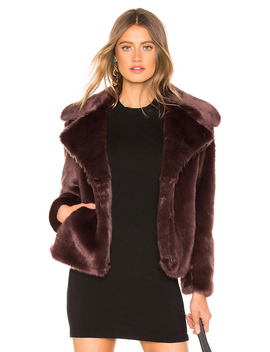 Faux Mink Jacket by 1. State
