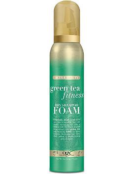 Green Tea Fitness Dry Shampoo Foam by Ogx