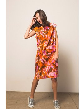 Preservation Vintage Shift Dress   Pink/Orange by Garmentory