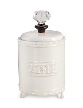 Circa Door Knob Coffee Canister by Mud Pie