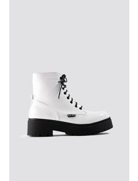 Patent Combat Boots by Na Kd Shoes