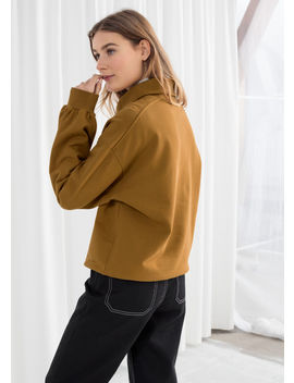 Zip Up Cotton Pullover by & Other Stories