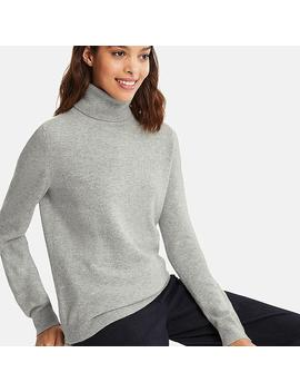 Cashmere Sweater Women Roller by Uniqlo
