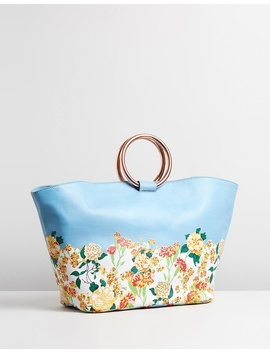 Florence Summer Large Tote by Sarah J Curtis