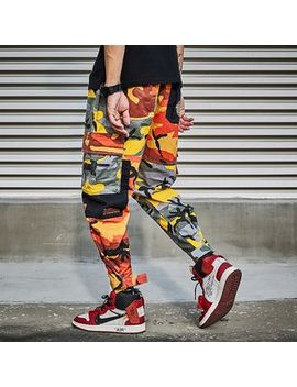 Uixx   Camo Cargo Jogger Pants by Uixx