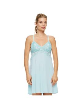 Women's Montelle Intimates Lace Chemise 9395 by Kohl's