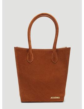 Le Petit Baya Bag In Brown by Jacquemus