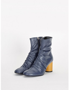 Ankle Boots   Bjbt712 Navy by Limill