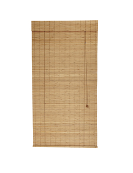 Style Selections Spice Light Filtering Bamboo Roller Shade (Common: 48 In; Actual: 48 In X 72 In) by Lowe's