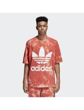 Tie Dye Trefoil Tee by Adidas
