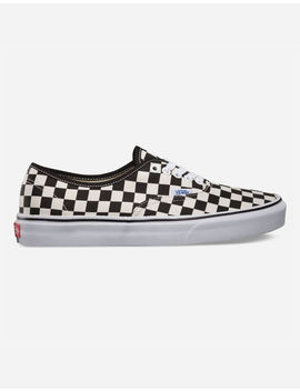 Vans Authentic Golden Coast Checkerboard Shoes by Vans