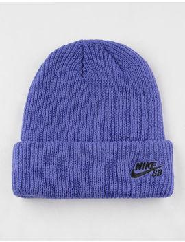 Nike Sb Fisherman Purple Mens Beanie by Nike Sb