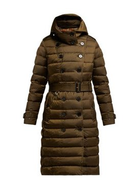Dalmerton Single Breasted Quilted Coat by Burberry
