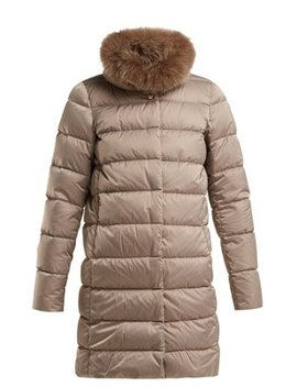 Polar Tech Double Layer Quilted Down Coat by Herno