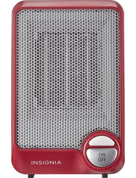 Electric Heater   Red by Insignia™