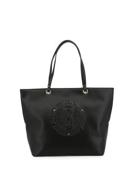 Black Embossed Shoulder Bag by Versace Jeans                                      Sold Out