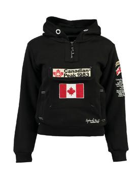 Galapagos Black Flag Hooded Coat by Canadian Peak