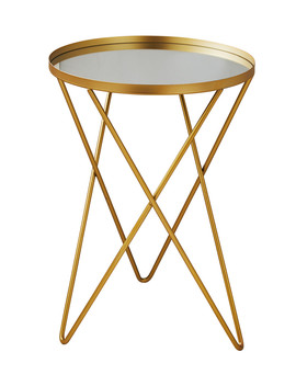 Gold Tone Star Side Table by Native Home & Lifestyle                                      Sold Out