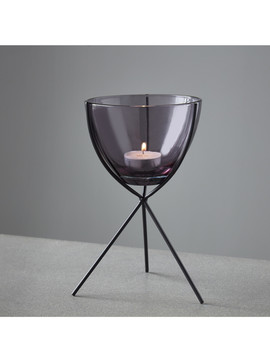 Ibis Smoke Candle Stand by Native Home & Lifestyle                                      Sold Out