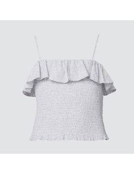 Shirred Spot Top by Seed Heritage