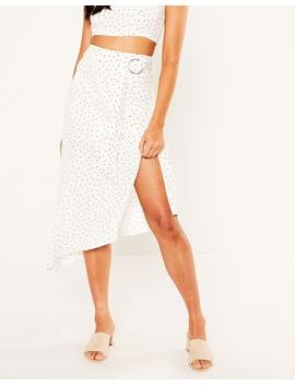 Belted Spot Skirt by Glassons