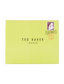 Pebble Leather Bi Fold Wallet by Ted Baker