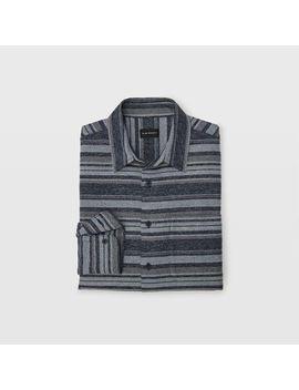 Winter Stripe Overshirt by Club Monaco