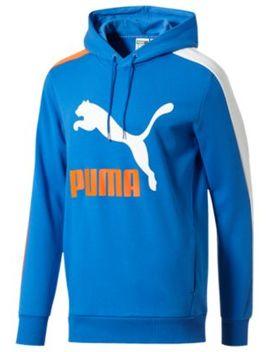 Puma Classics T7 Ft Logo Pullover Hoodie   Men's by Puma