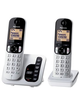 Panasonic Cordless Telephone With Answer Machine   Twin by Argos