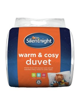 Silentnight Warm And Cosy 15 Tog Duvet   Kingsize by Argos
