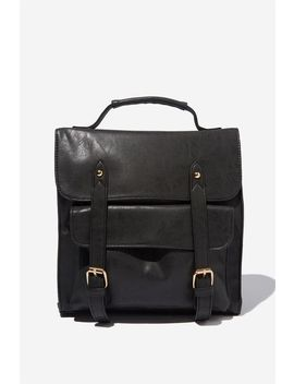 Buffalo Satchel Backpack by Cotton On