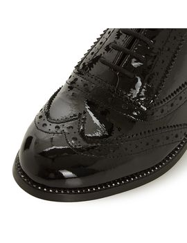 Florrence Crystal Welt Lace Up Shoes by Dune