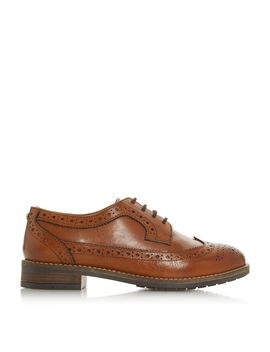 Wf Felixe Wide Fit Lace Up Brogues by Dune