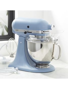 Kitchen Aid ® Artisan Blue Velvet 5 Quart Tilt Head Stand Mixer by Crate&Barrel