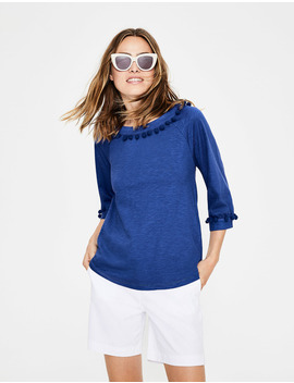 Rosemary Jersey Top by Boden