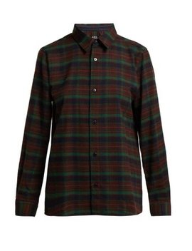 Mireille Flannel Shirt by A.P.C.