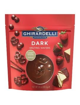 Ghirardelli Dark Chocolate Melting Wafers   10oz by Ghirardelli