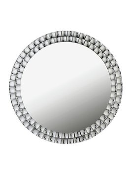 Argos Home Circular Jewelled Glass Mirror by Argos