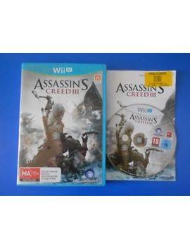 "Assassin's Creed Iii 3   Wii U ""Australia"" by Ebay Seller"