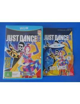 "Just Dance 2016   Wii U ""Australia"" by Ebay Seller"