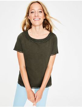 Thelma Jersey T Shirt by Boden