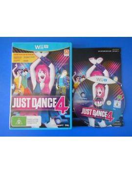 "Just Dance 4   Wii U ""Australia"" by Ebay Seller"