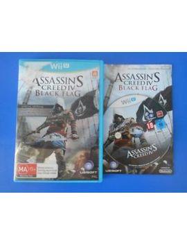 "Assassin's Creed Iv 4 Black Flag   Wii U ""Australia"" by Ebay Seller"